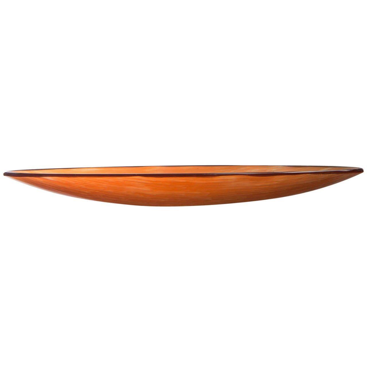 """Rare """"Inciso"""" Bowl by Paolo Venini for Venini"""
