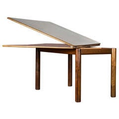 """Nibai"" Extensible Dining Table by Afra and Tobia Scarpa for Gavina"