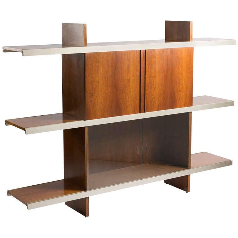 """Multiuse"" Bookcase by Angelo Mangiarotti for Poltronova"