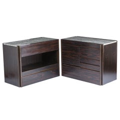 """Set of Two """"4d"""" Storage System Units by Mangiarotti for Molteni"""