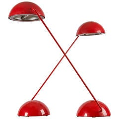 "Pair of ""Bikini"" Table Lamps by Barbieri and Marianelli for Tronconi"