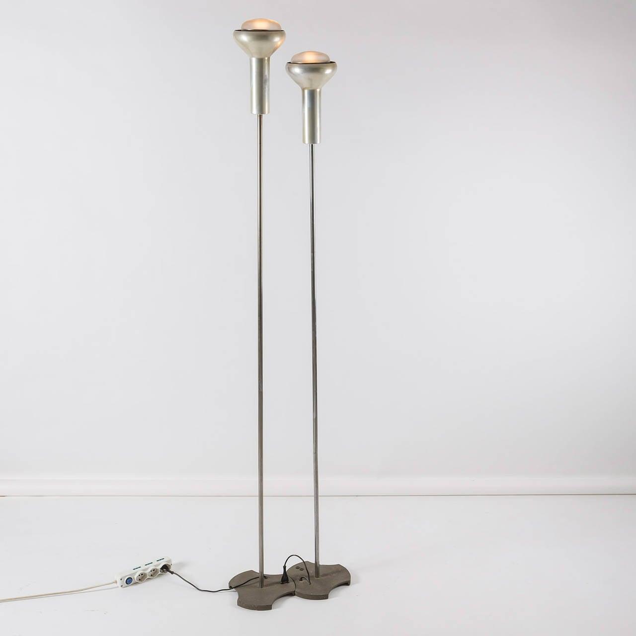 Pair of standard lamps model