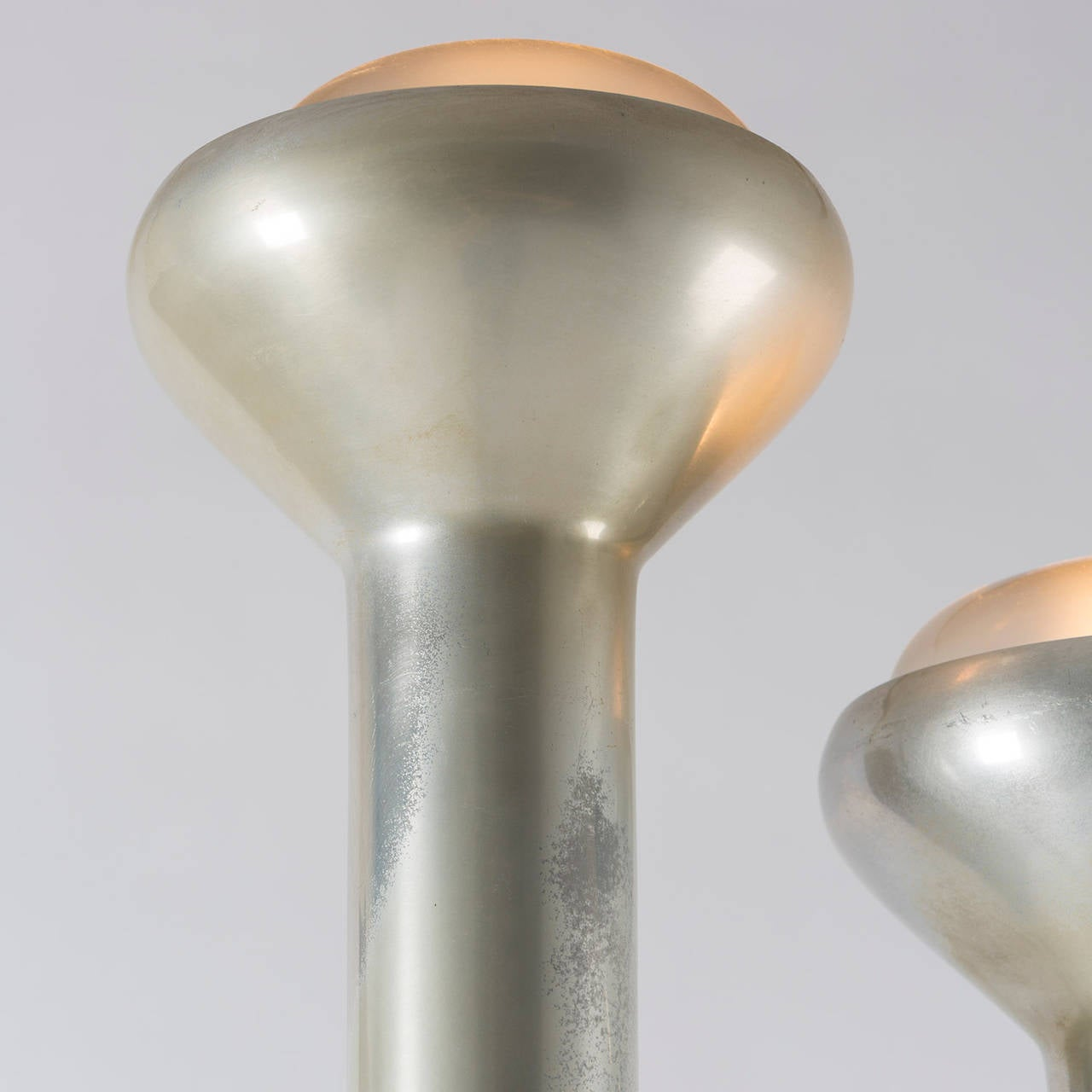 Italian Pair of Floor Lamps by Gino Sarfatti for Arteluce For Sale