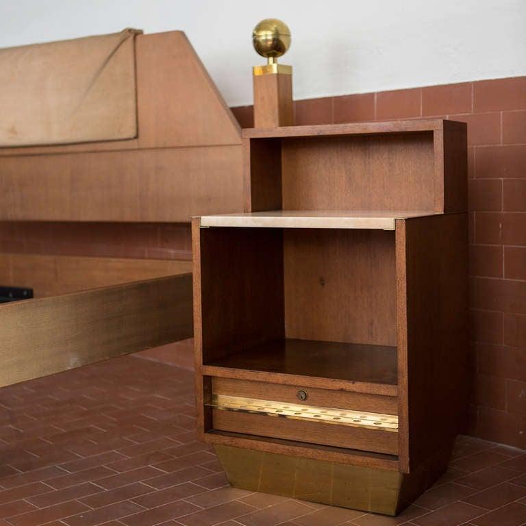 Italian Sixties Kingsize Bed For Sale 4