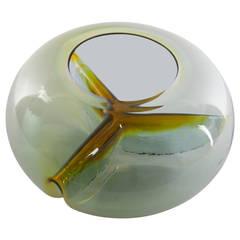 "Murano Glass ""Membrane"" Centerpiece by Toni Zuccheri for VeArt"