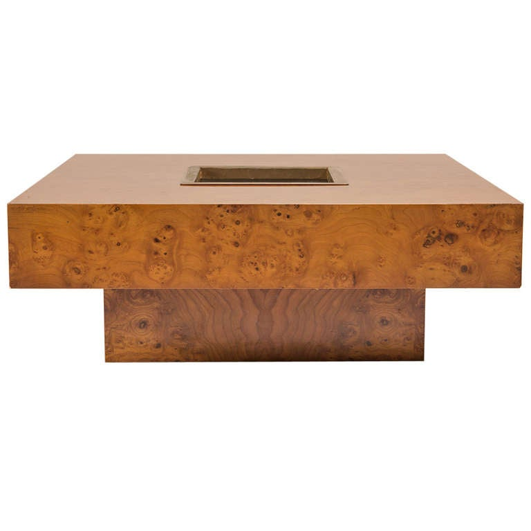 Large Coffee Table By Willy Rizzo For Sabot For Sale At 1stdibs