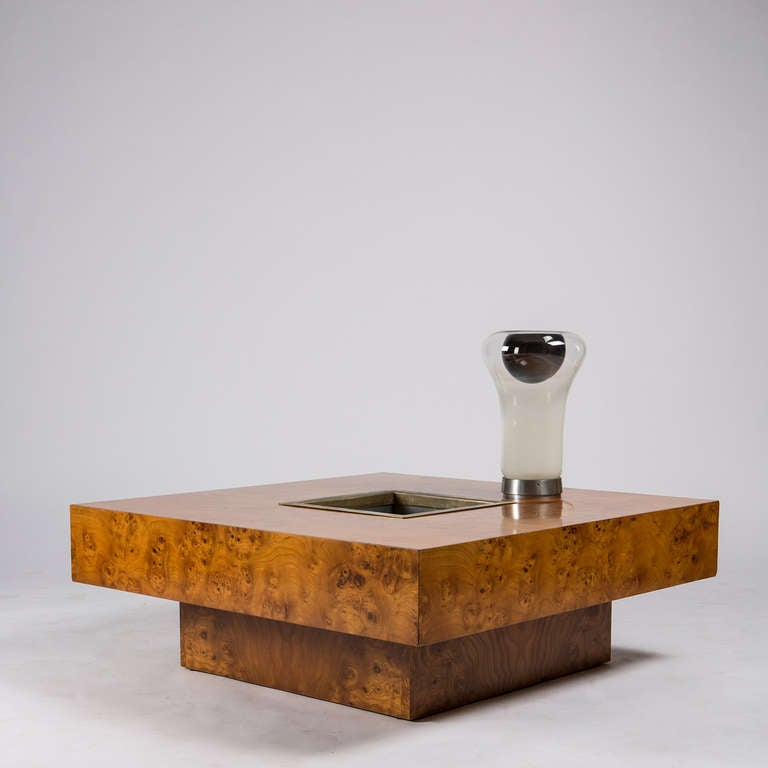 Large Coffee Table By Willy Rizzo For Sabot At 1stdibs
