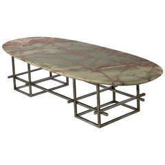 Huge Onyx Low Table