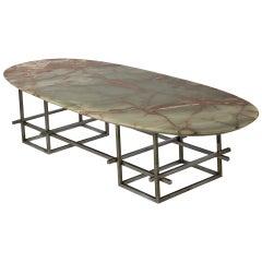 Huge Onyx Low Table