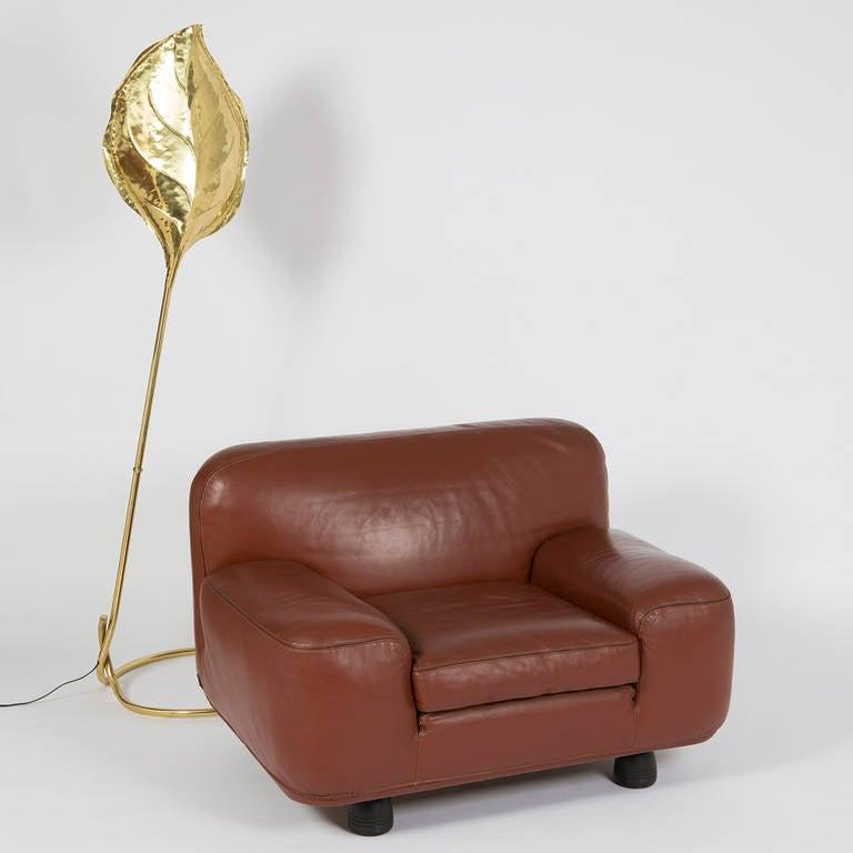 """Altopiano"" Lounge Chair by Franco Poli for Bernini For Sale 4"