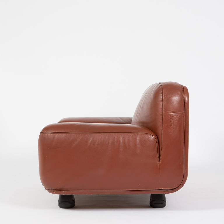 """""""Altopiano"""" Lounge Chair by Franco Poli for Bernini In Excellent Condition For Sale In Milan, IT"""