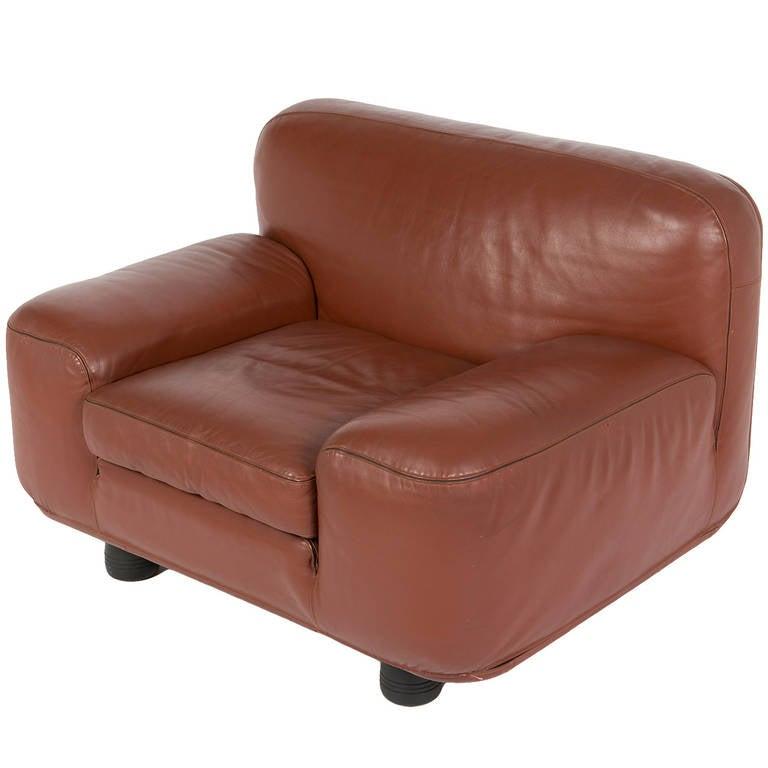 """Altopiano"" Lounge Chair by Franco Poli for Bernini For Sale"
