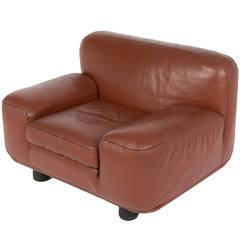 """Altopiano"" Lounge Chair by Franco Poli for Bernini"