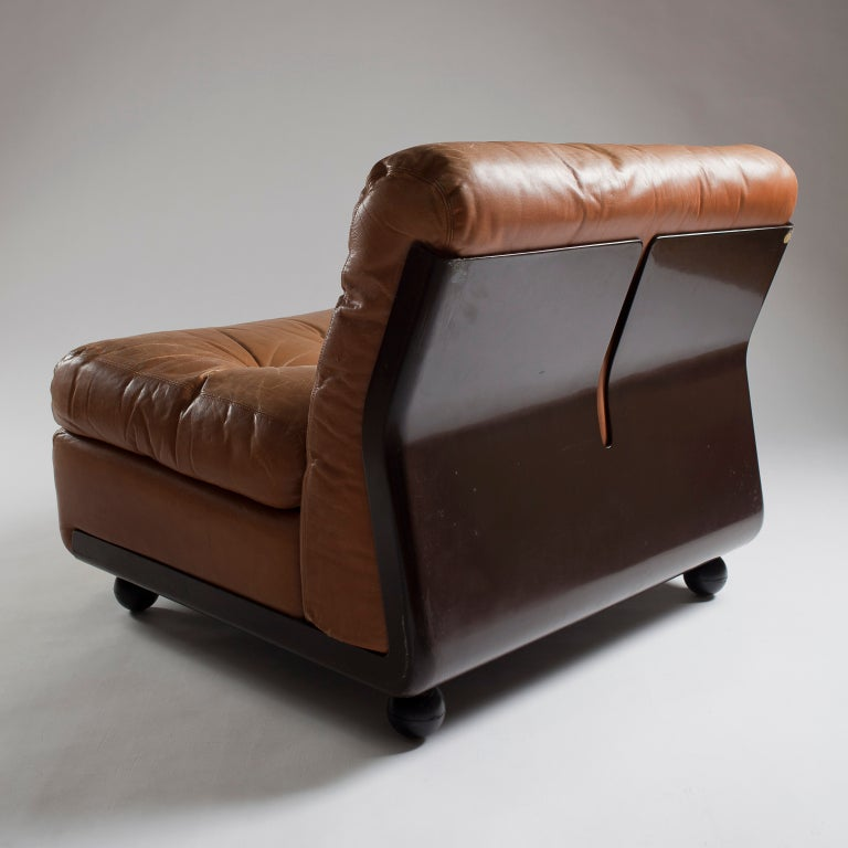 Amanta Lounge Chair By Mario Bellini For B Amp B At 1stdibs