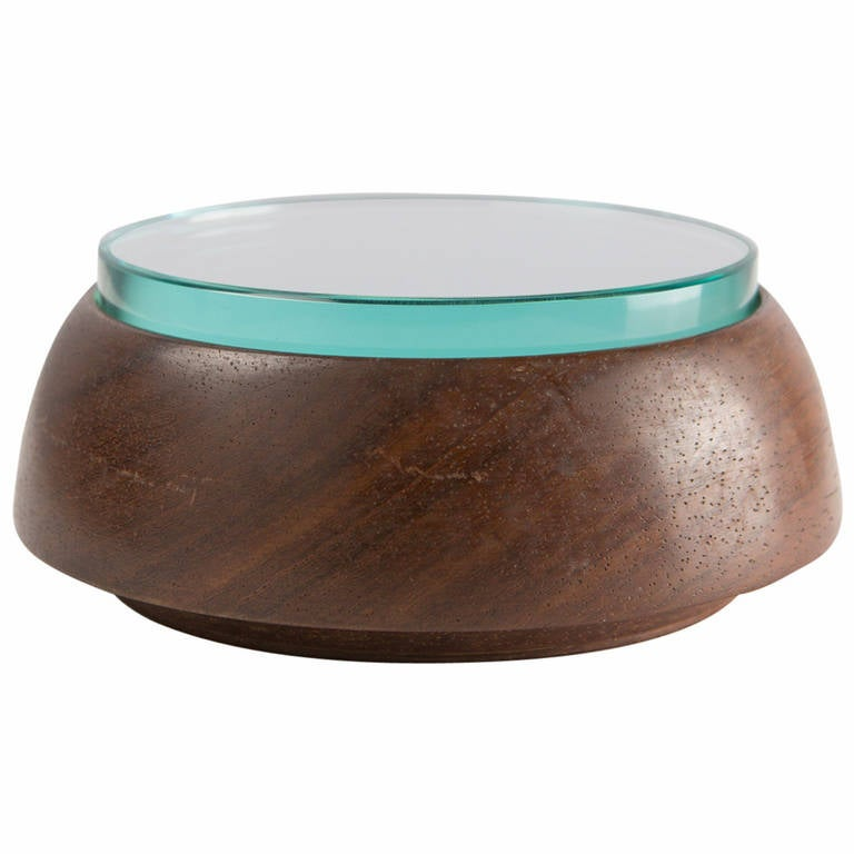 Crystal and Wood Box