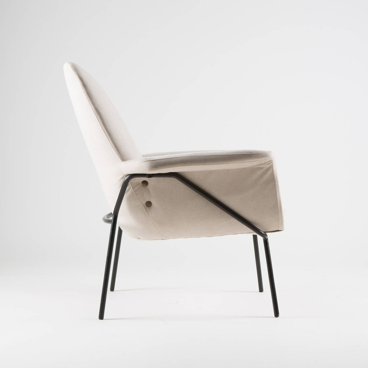 """Lucania"" Armchair with Ottoman by Giancarlo De Carlo for Arflex 4"