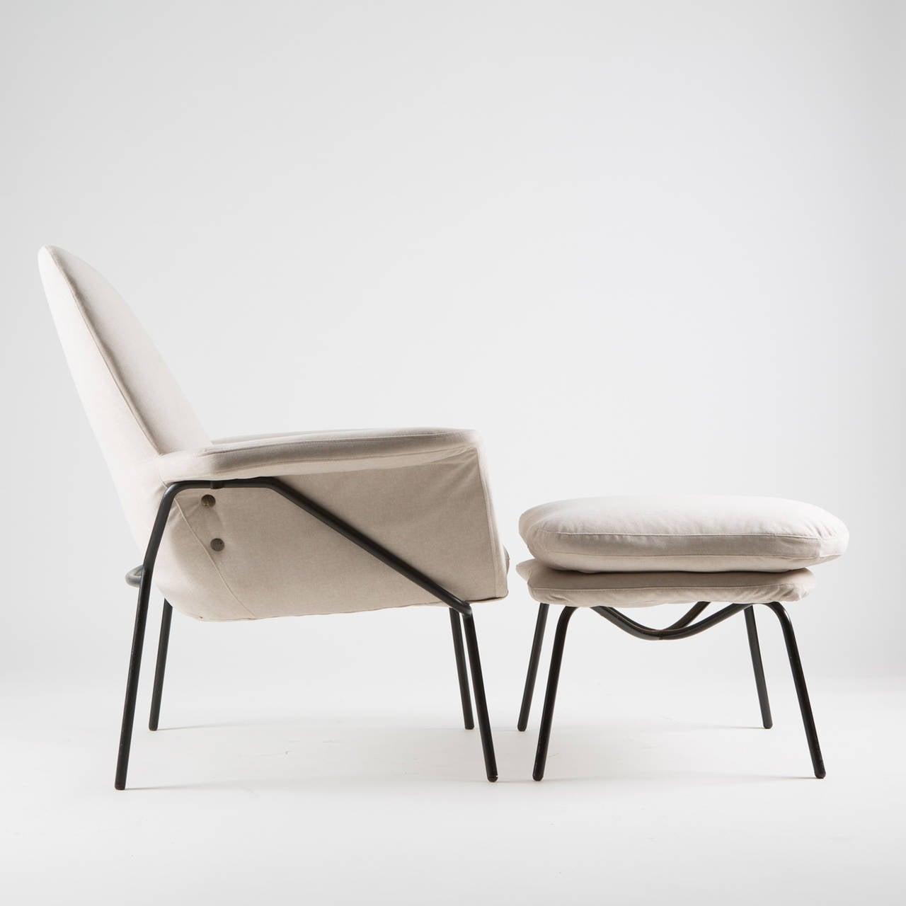 """Lucania"" Armchair with Ottoman by Giancarlo De Carlo for Arflex 2"