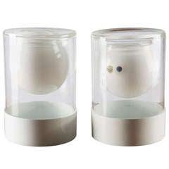 Pair of Vases by Ugo la Pietra for La Murrina / Poggi
