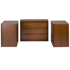 "Set of Three ""4D"" Storage System by Mangiarotti for Molteni"