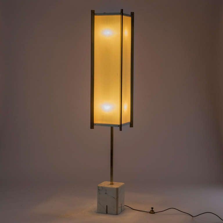 prisma floor lamp by ignazio gardella for azucena for sale at 1stdibs. Black Bedroom Furniture Sets. Home Design Ideas