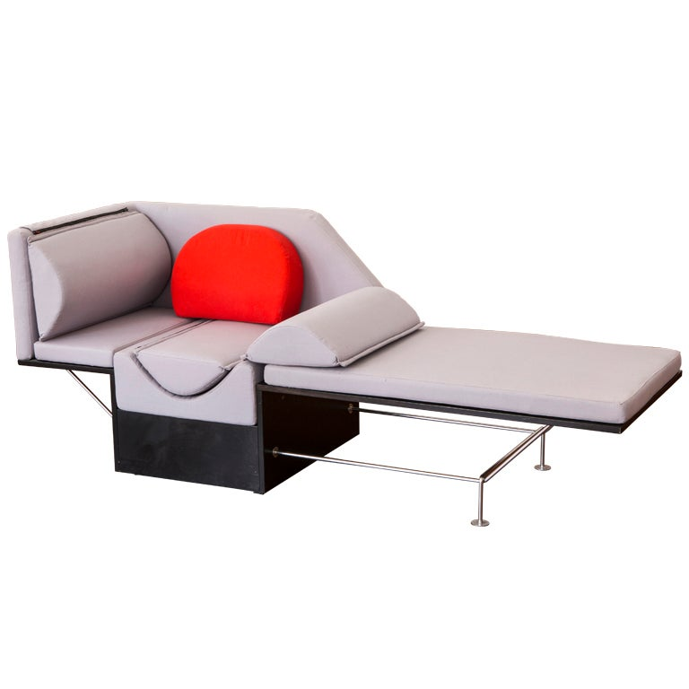 Flip chaise longue by Harri Kohonen for Hinno at 1stdibs
