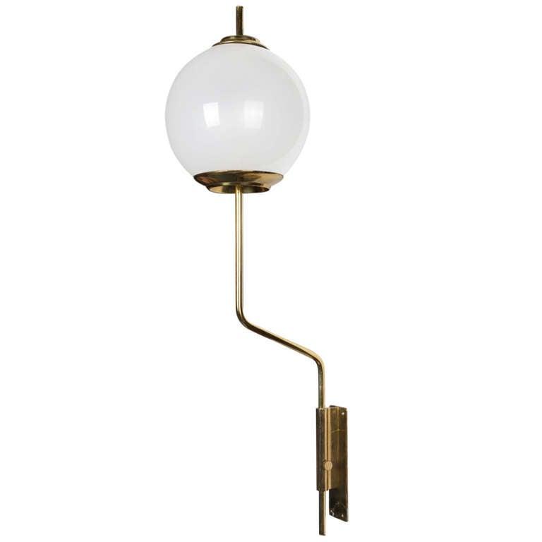 """""""Pallone"""" Wall Lamp by Caccia Dominioni for Azucena"""