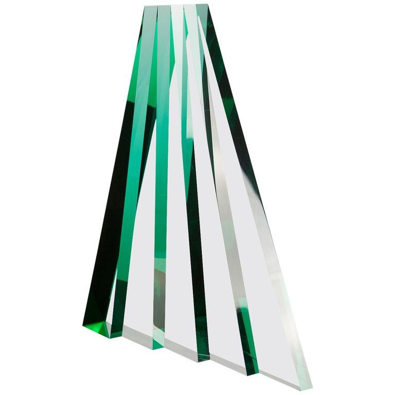 Impressive Plexiglas Sculpture by Luca Bonato for Fusina For Sale