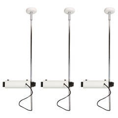 "Set of Three ""Colombo"" Ceiling Lamps by Joe Colombo for Oluce"