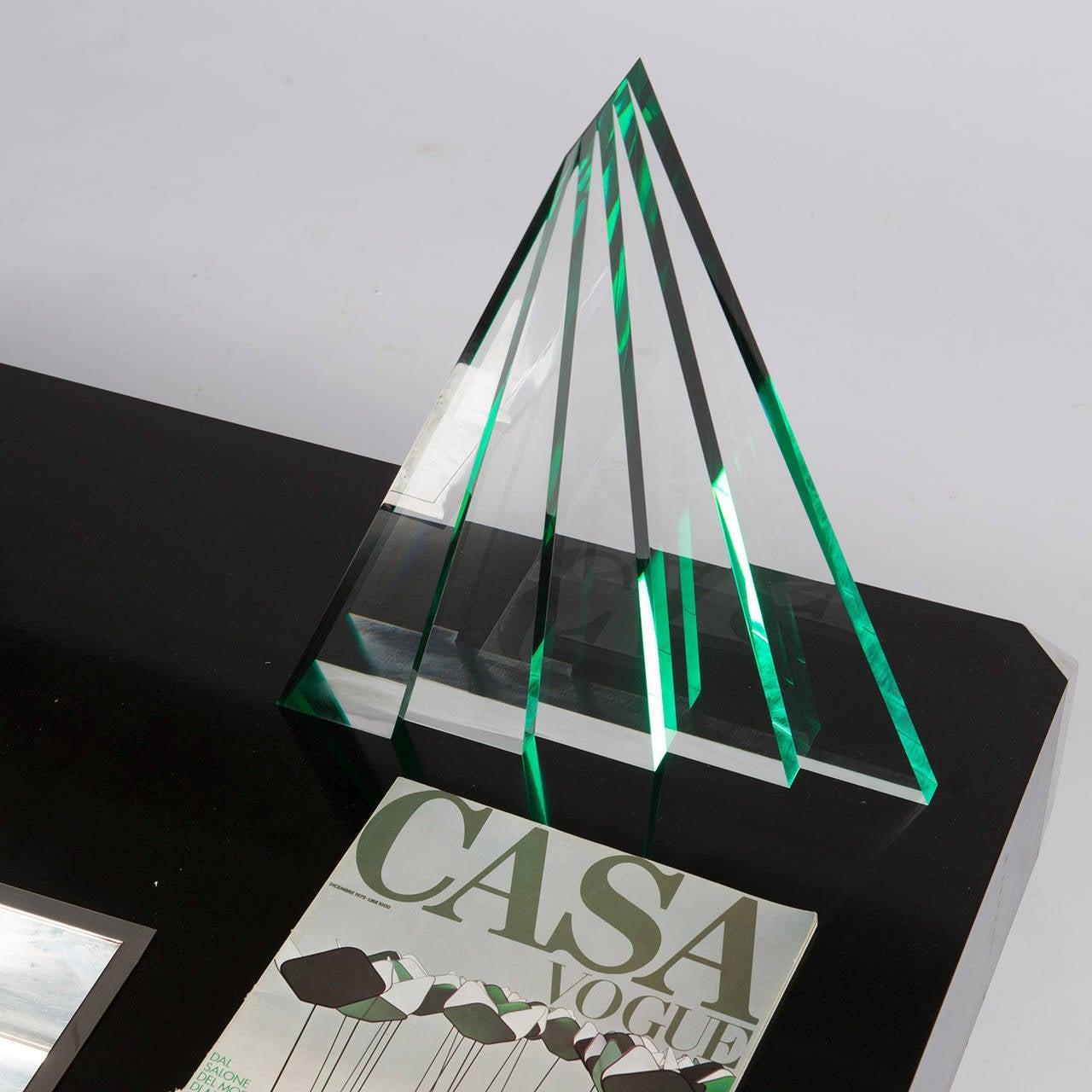 Plexiglass Impressive Plexiglas Sculpture by Luca Bonato for Fusina For Sale