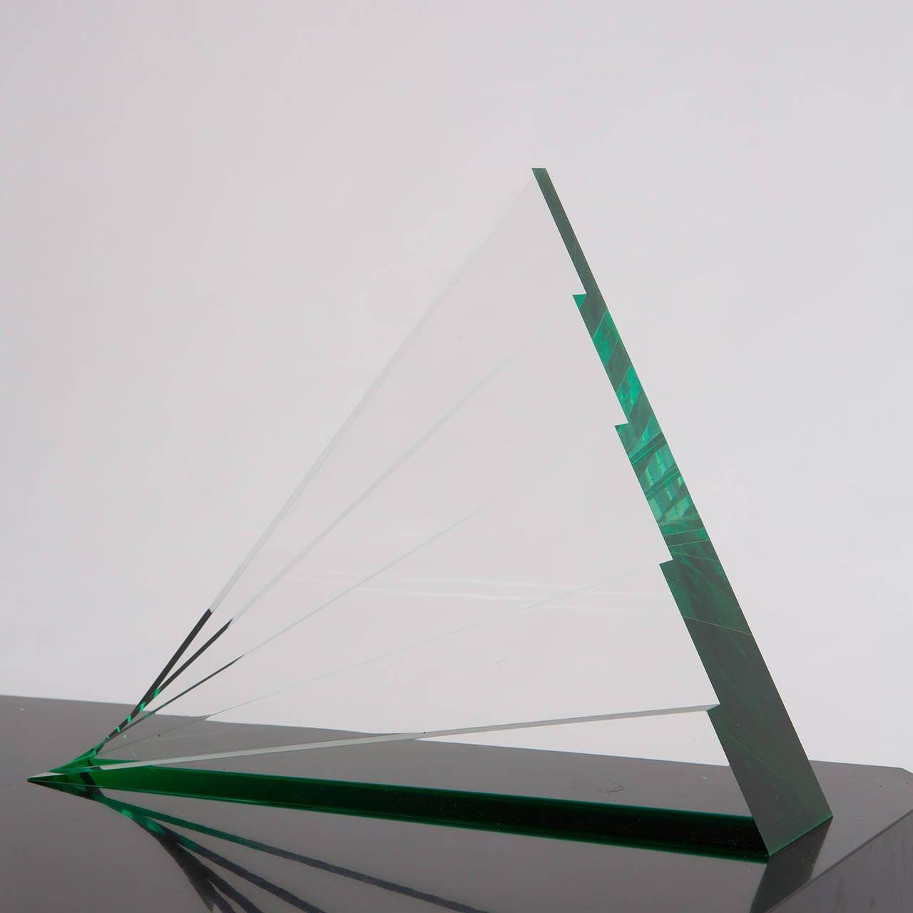Impressive Plexiglas Sculpture by Luca Bonato for Fusina For Sale 3