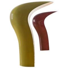 "Set of Two ""Pelota"" Table Lamps by Studio DA for Lamperti"