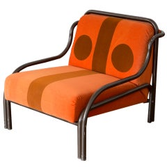 """Means"" armchair by Gae Aulenti for Poltronova"