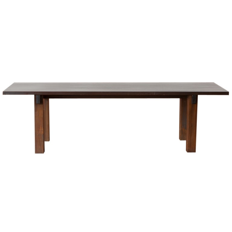 charlotte perriand brasil table in mahogany for sale at 1stdibs. Black Bedroom Furniture Sets. Home Design Ideas