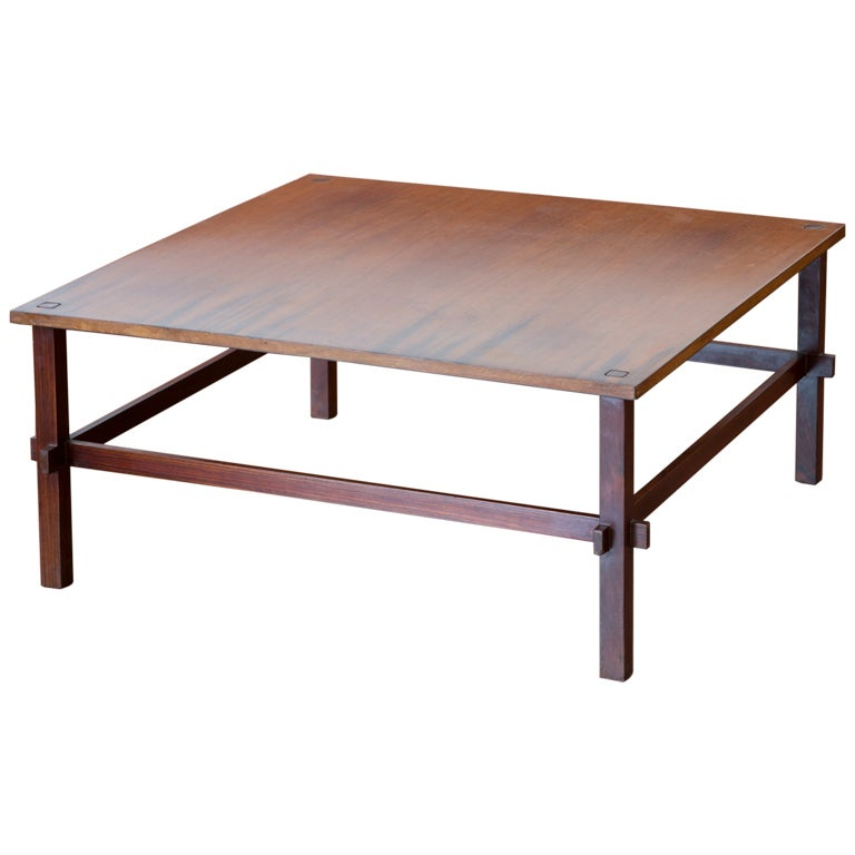 Coffee Table Model 740 By Gianfranco Frattini For Cassina For Sale At 1stdibs