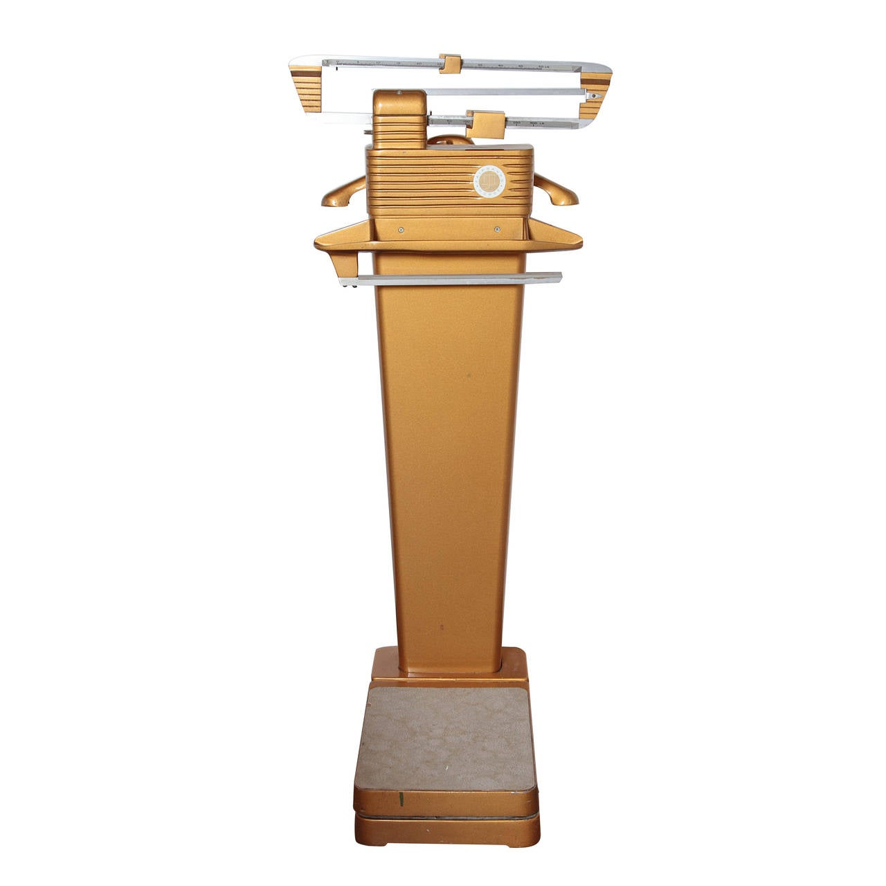 Classic Fairbanks Morse Patented Machine Age Design Gentleman's Valet Scale