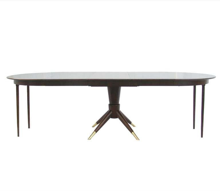 Extension Dining Table For Small To Large Space Attributed