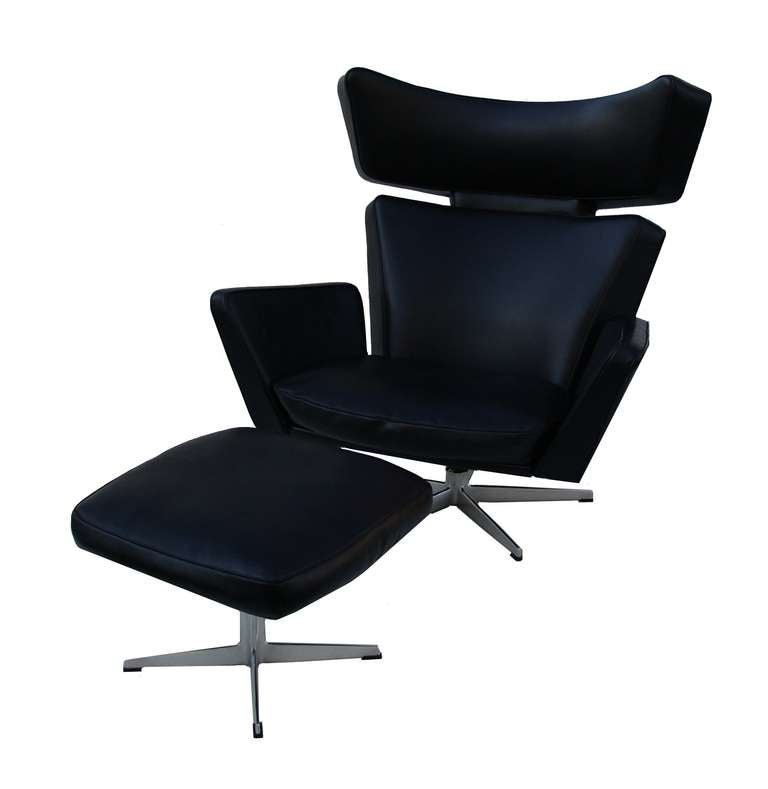 Ox Chair And Ottoman By Arne Jacobsen For Fritz Hansen For Sale At 1stdibs