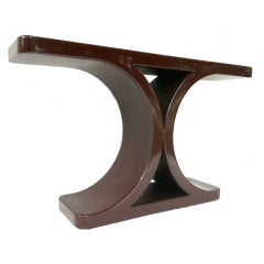 "Karl Springer ""JMF"" Console Table"