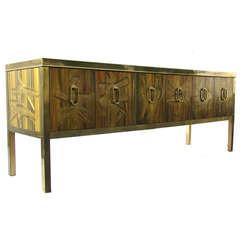 Bernhard Rohne for Mastercraft Credenza Sideboard Cabinet
