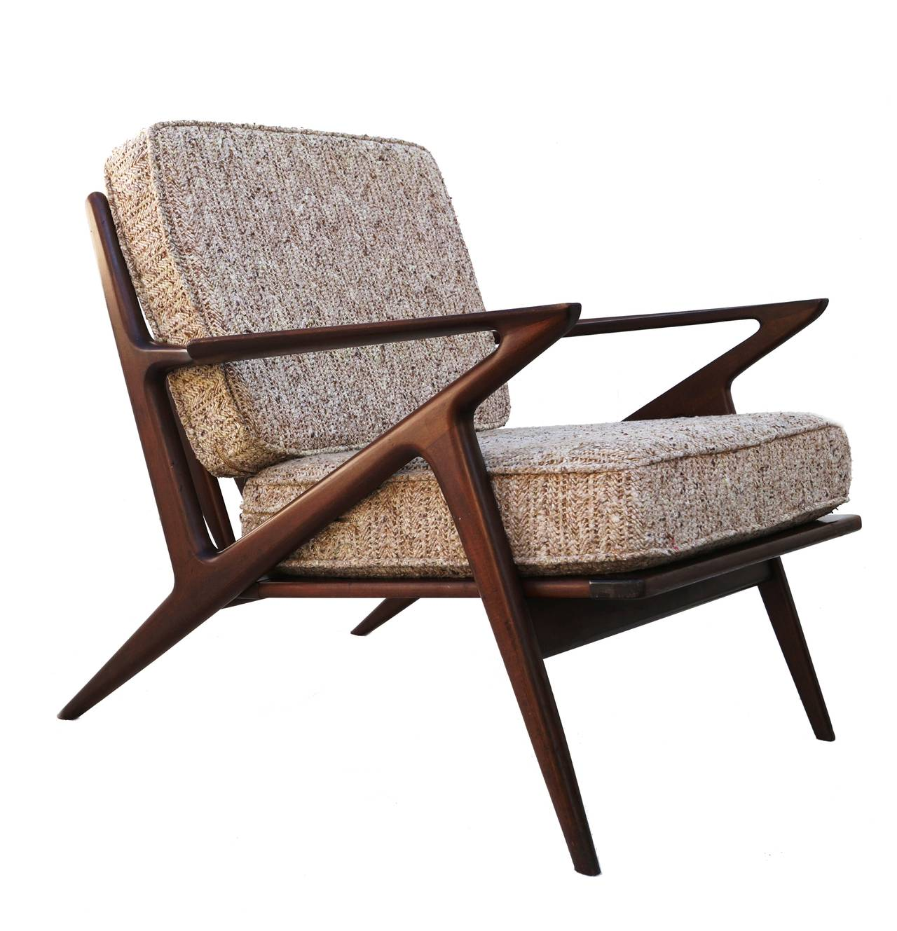 Pair of poul jensen z chairs selig at 1stdibs for Poul jensen z chair