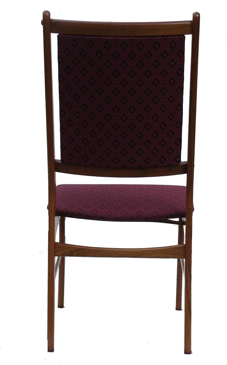 rosewood scandinavian danish modern dining chairs for sale at 1stdibs