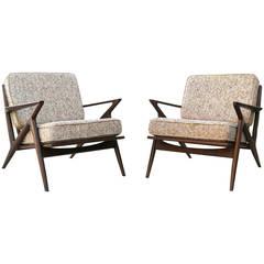Pair of Poul Jensen Z Chairs, Selig