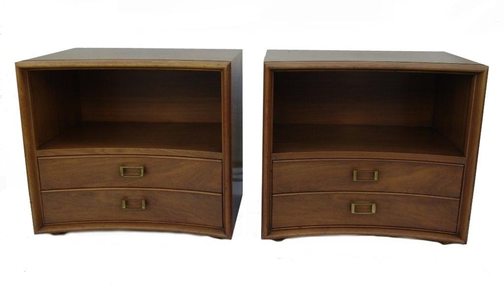 paul frankl mid century modern bedroom set dresser end tables image 6