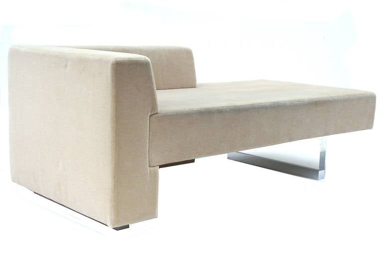 Vladimir Kagan Sofa Omnibus Chaise Lounge for Gucci at 1stdibs