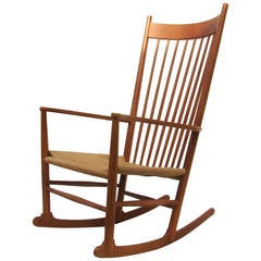 Hans J. Wegner Rocker Rocking Chair, J16