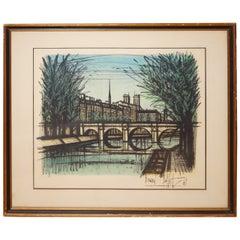 "Bernard Buffet, ""Le Pont Neuf,"" 1968"