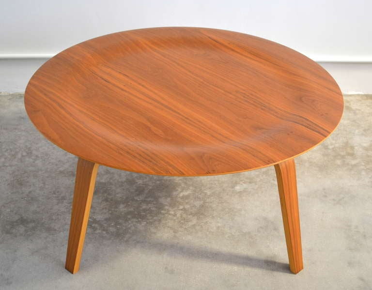 Eames Molded Plywood Coffee Table At 1stdibs
