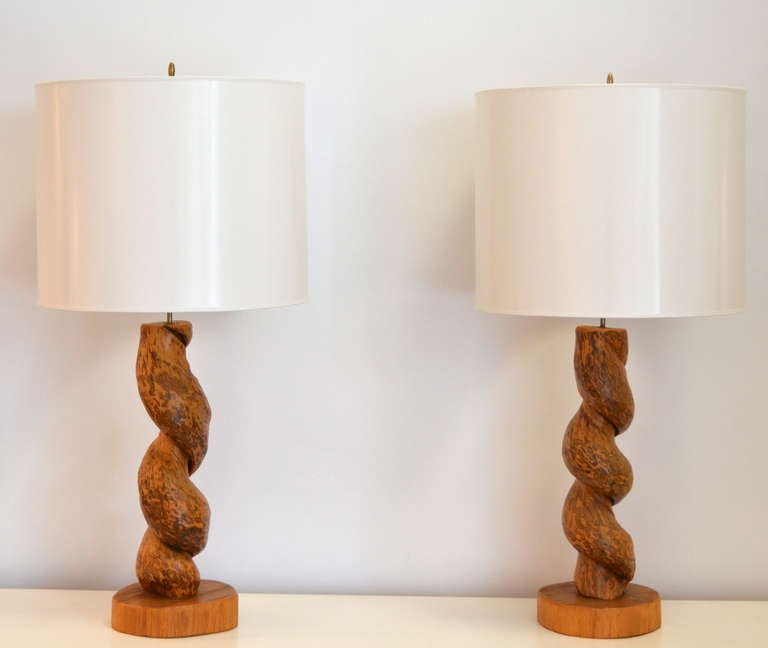 Pair of Organic Form Table Lamps at 1stdibs - photo#25