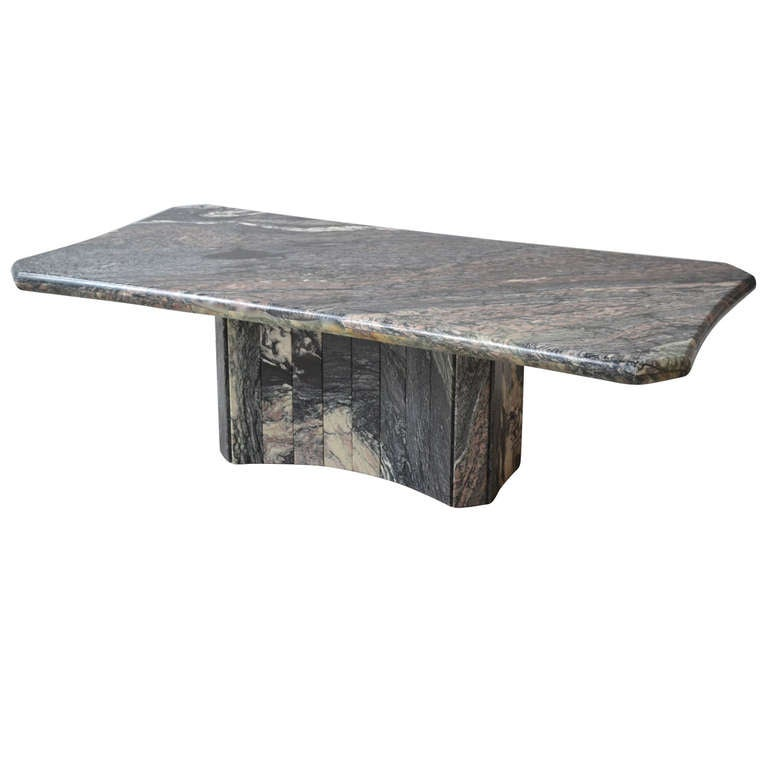 Italian Marble Coffee Table At 1stdibs