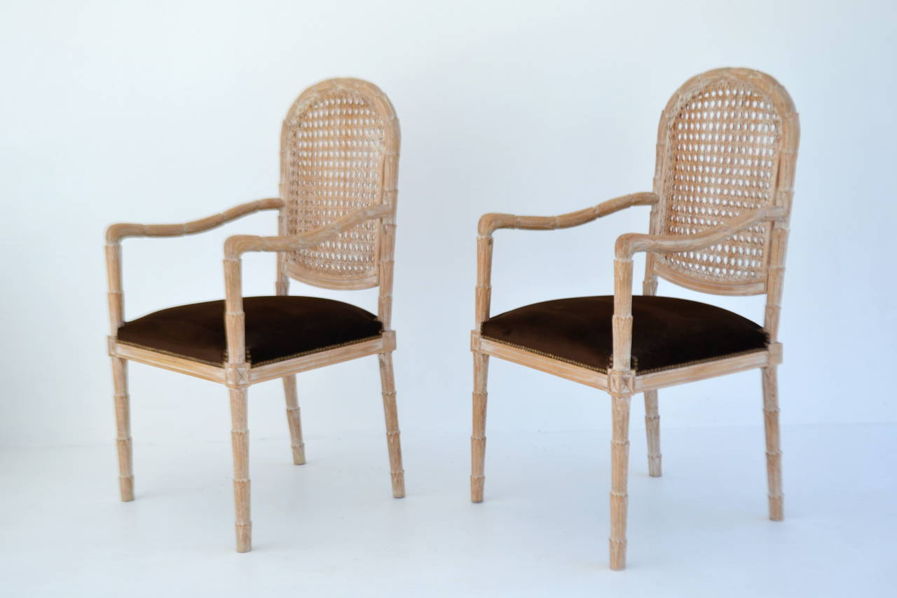 Pair of Italian Hand-Carved Hall Chairs by Boffi For Sale 4